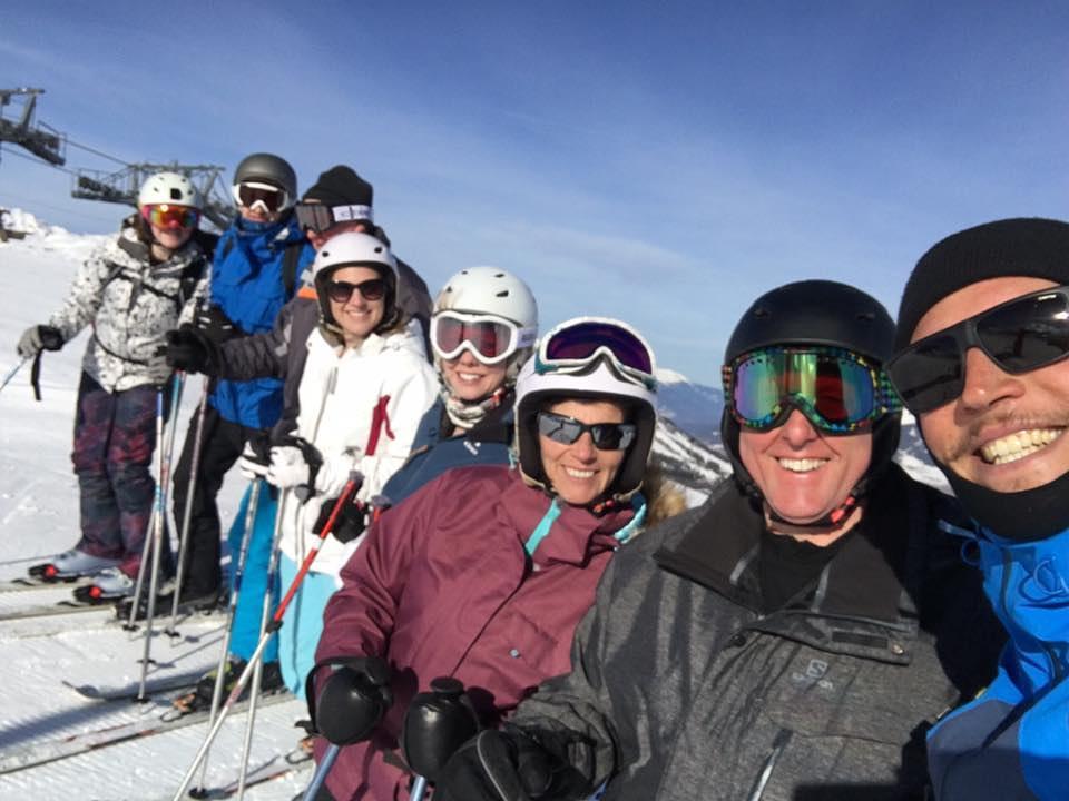 group ski trip