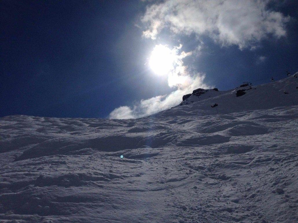 la tania snow report