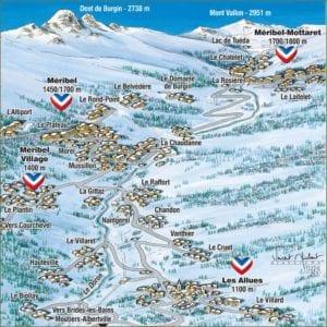 meribel-village-map