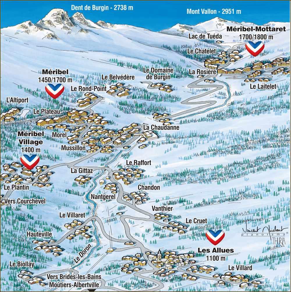 Mribel Ski Resort Guide New Generation Ski School