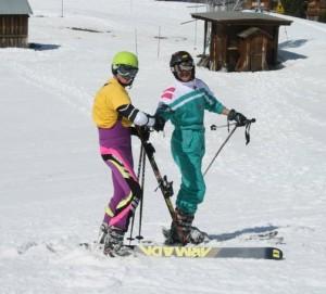 retro skiwear