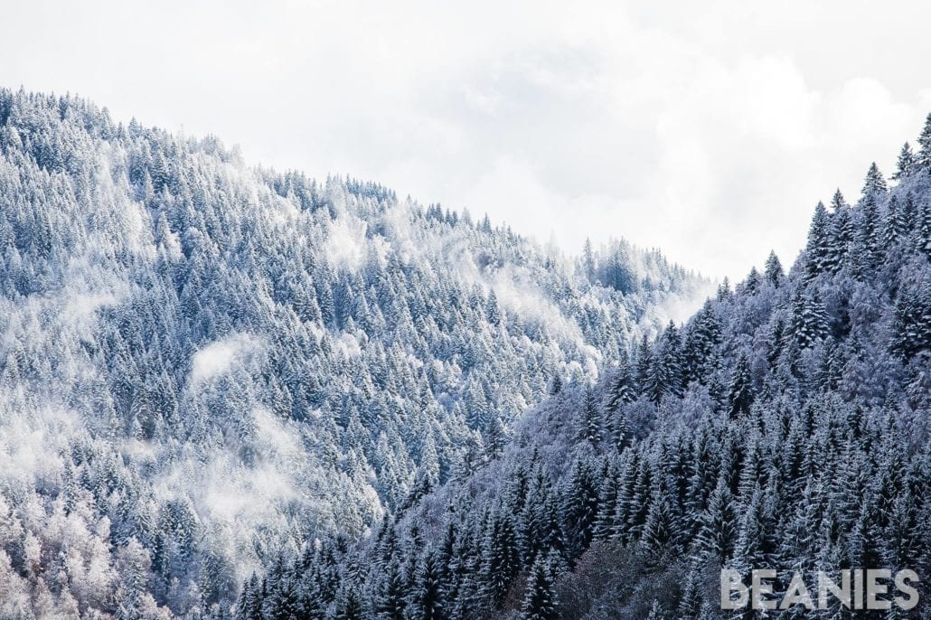 Winter arrives in Morzine