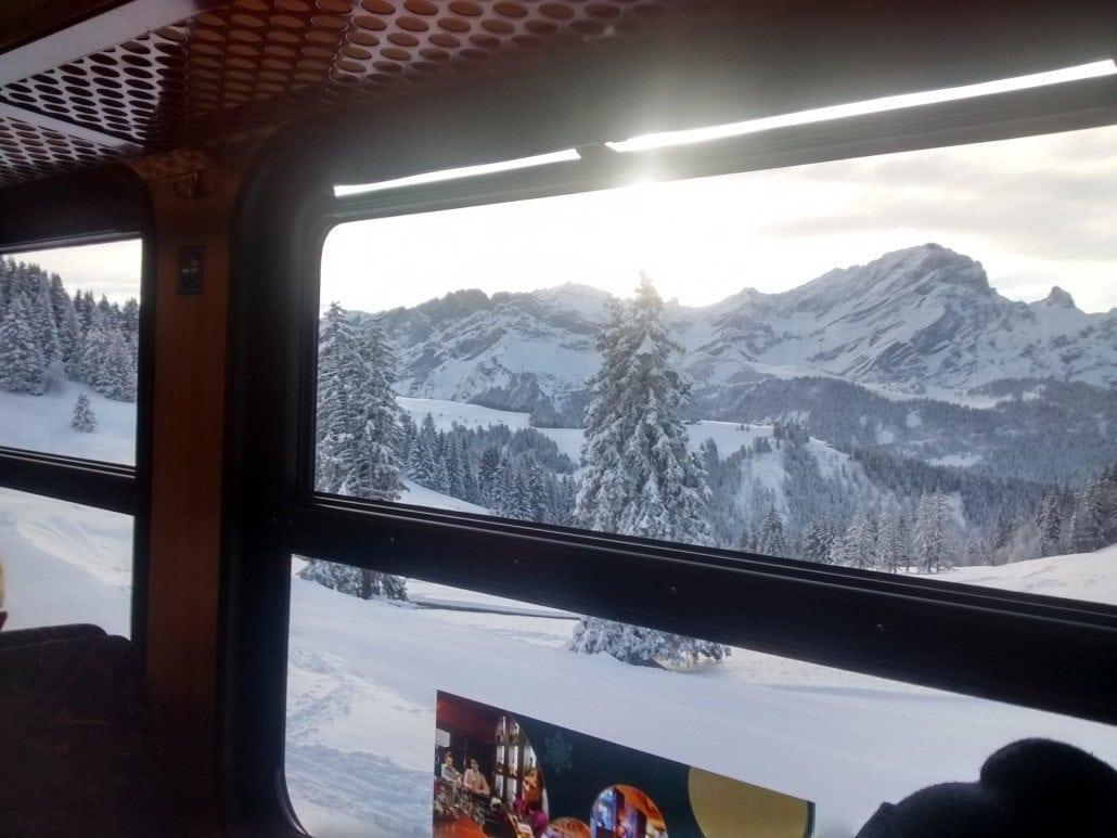 Villars snow train